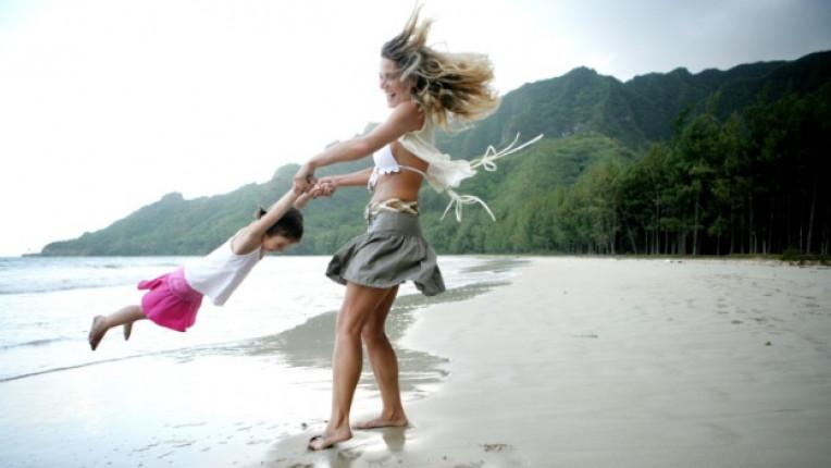 деца щастие родители