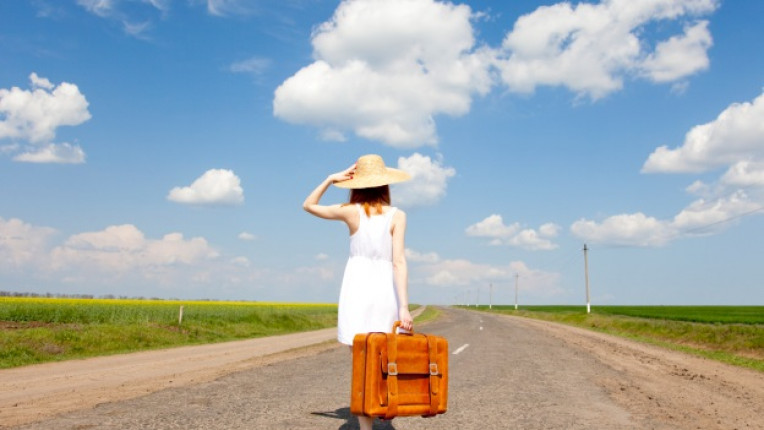 пътуване куфар