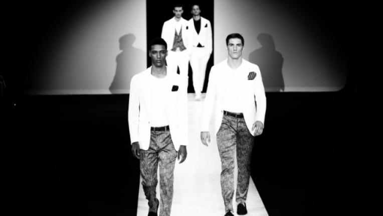 Ревю на Армани от Седмицата на мъжката мода в Милано