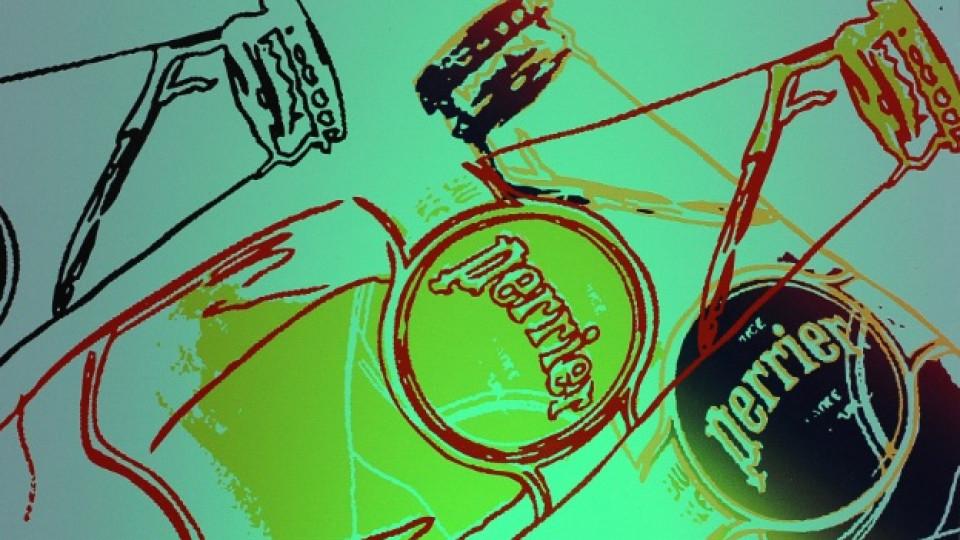 """""""Perrier"""" през погледа на Анди Уорхоул"""
