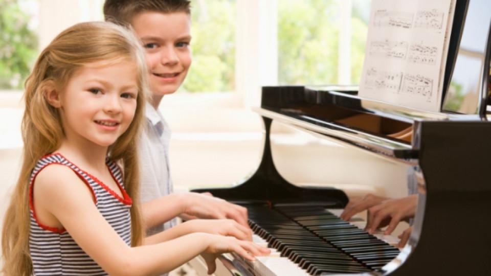Музикални уроци за най-малките