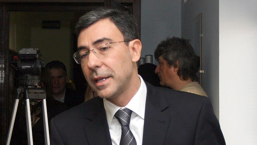 Министърът на образованието Даниел Вълчев