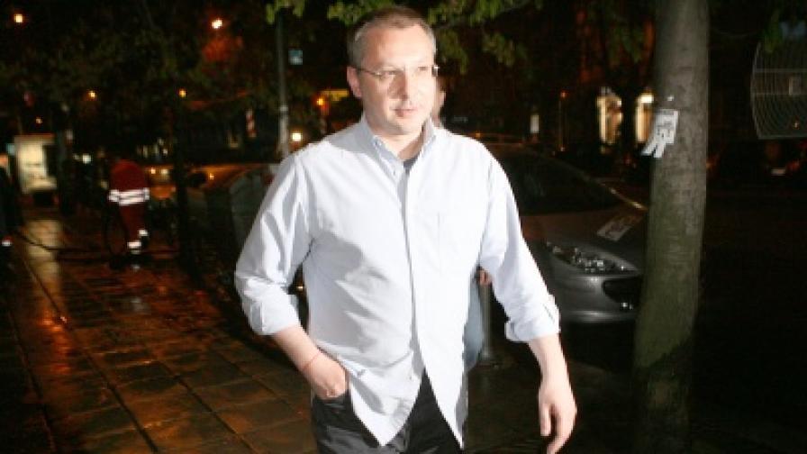 Премиерът Сергей Станишев инспектира чистенето на София