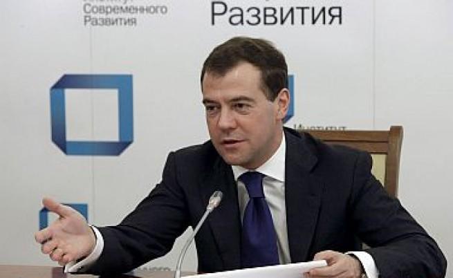 Медведев: Нека има протести и конкуренция