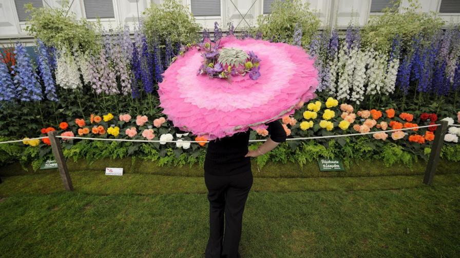 Фестивалът на цветята в Челси.
