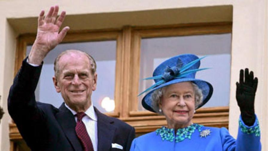 И Елизабет II гледа зеленчуци