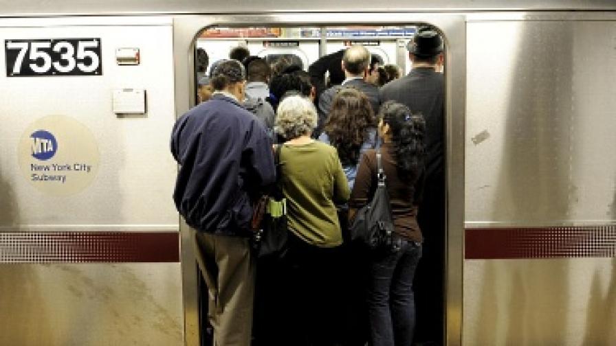 Грубостта е типично явление в обществения транспорт в Ню Йорк