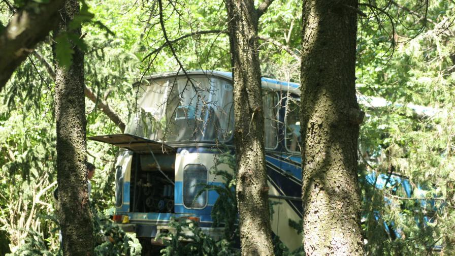 През май този автобус уби 17 души край Ямбол.