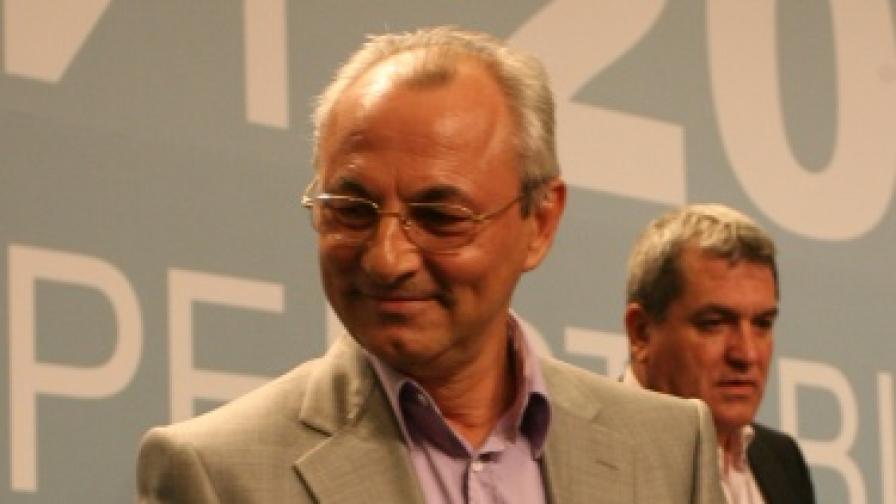 Лидерът на ДПС Ахмед Доган