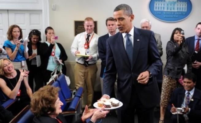 За рождения ден - кръстиха планина на името на Обама