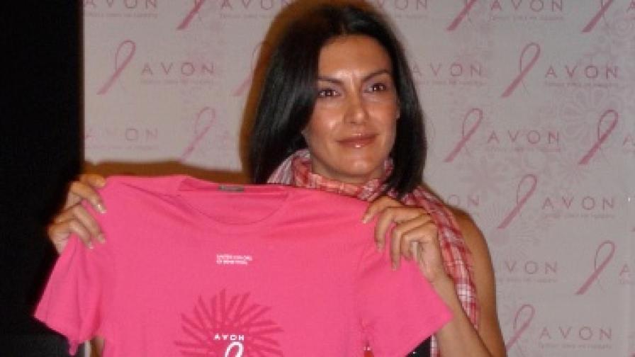 """Актрисата Диана Любенова е новият посланик на инициативата """"От любов към живота"""""""