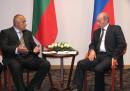 Премиерът Бойко Борисов и руският президент Владимир Путин по време на тяхна среща преди години