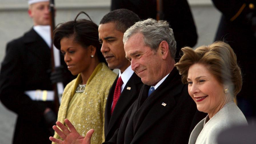 Буш: Хилари има дебел з****к