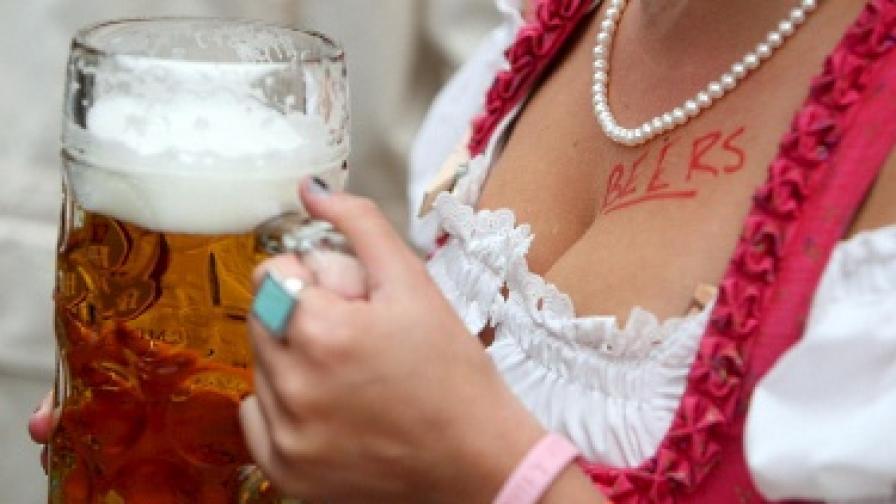 Бирата няма връзка с нарастването на гръдната обиколка на германките