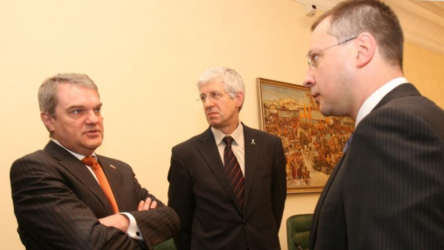 Снимка от заседание на Министерския съвет през април 2007 г.
