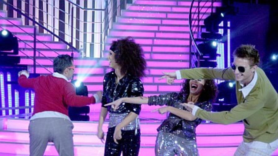 Отборът на Милен и Зара танцува диско, но също е на елиминации