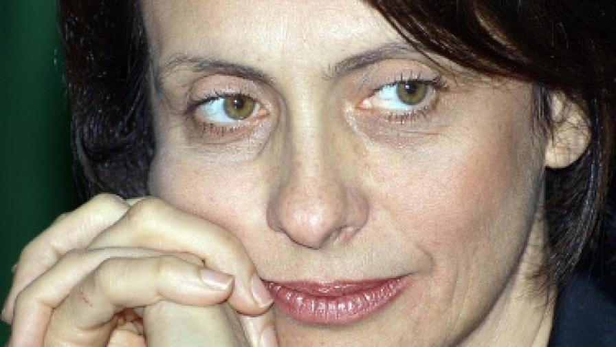 Надежда Михайлова вече е г-жа Нейнски