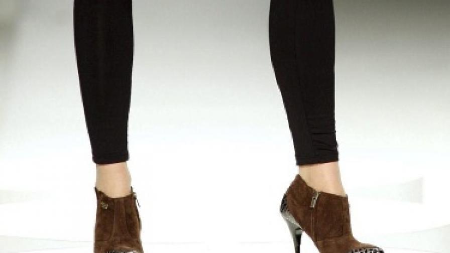 Кракът е особено елегантен в тези обувки
