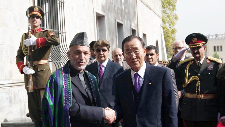 Карзай бе обявен за президент на Афганистан