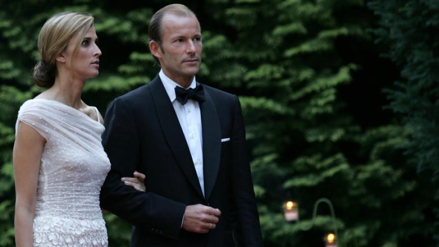 Княз Кирил и княгиня Росарио (снимка от юли 2006 г.)