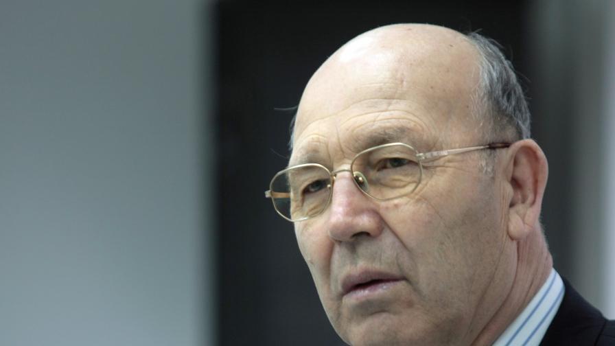 """Президентът на """"Главболгарстрой"""" Симеон Пешов."""