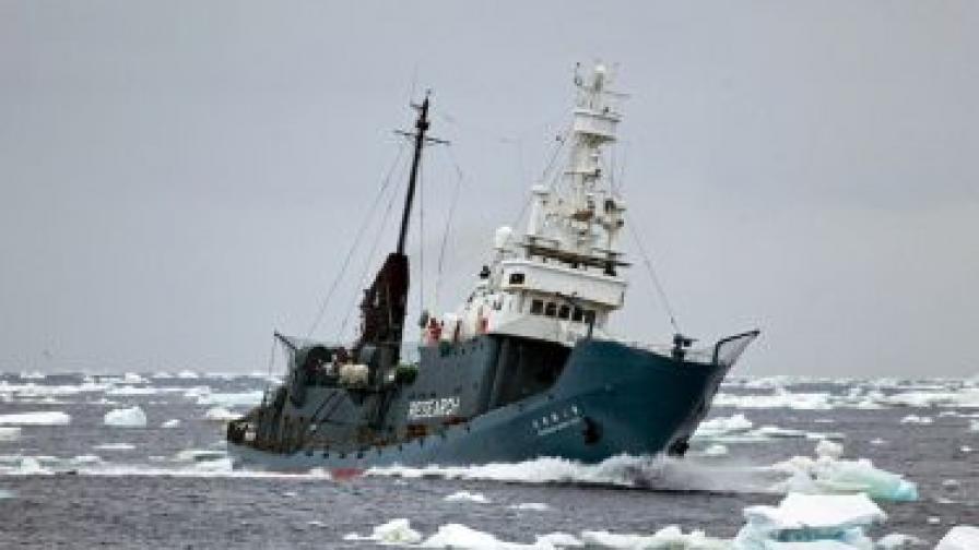 Японският китоловен кораб