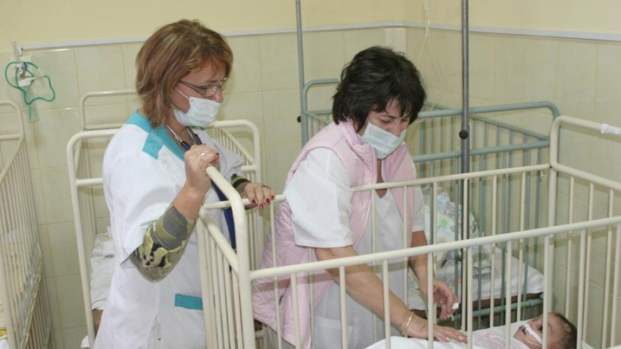 В сливенската болница има над сто болни от морбили