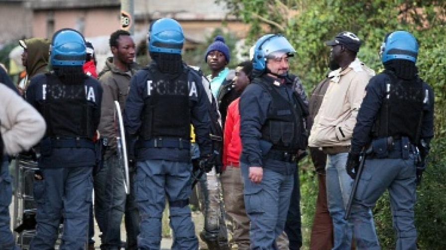 Преди дни в италианското градче Розарно избухнаха сблъсъци между африкански имигранти и местното население