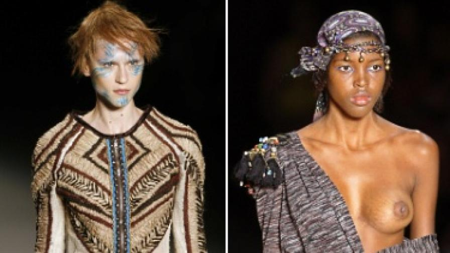 Шарено и голо - модни дефилета в Рио
