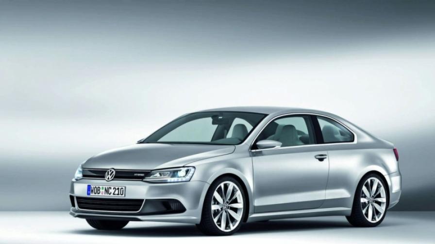 VW показа компактно купе от бъдещето