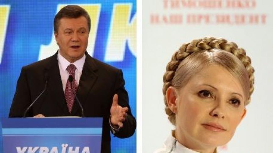 Проруският Янукович води на вота в Украйна