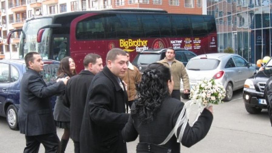 """Младоженци мераклии за """"Биг брадър"""""""