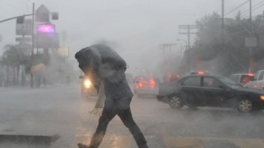 Дъжд потопи Сао Паулу
