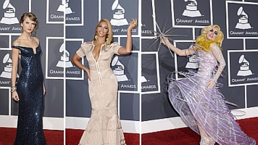 Трите героини на вечерта: Тейлър Суифт, Бийонсе и Лейди Гага
