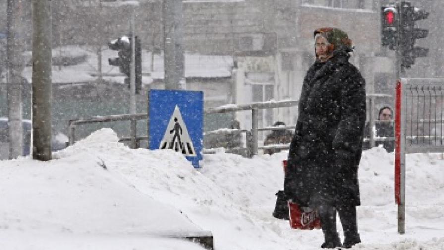 Големите студове и снеговалежи струваха скъпо на румънската икономика
