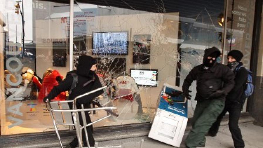 Погромът във Ванкувър - дело на анархисти