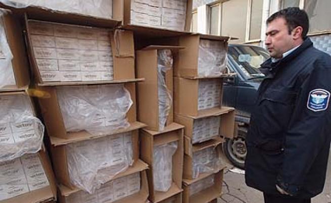 Във Варна хванаха рекордно количество контрабандни цигари