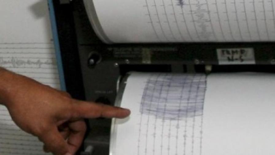 Силно земетресение край Владивосток