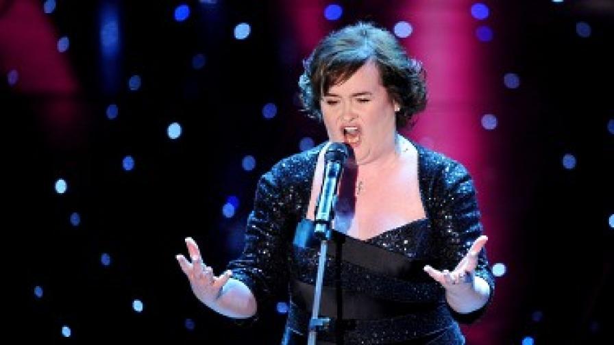 Сюзан Бойл изпя I Dreamed a Dream и за зрителите на Сан Ремо 2010