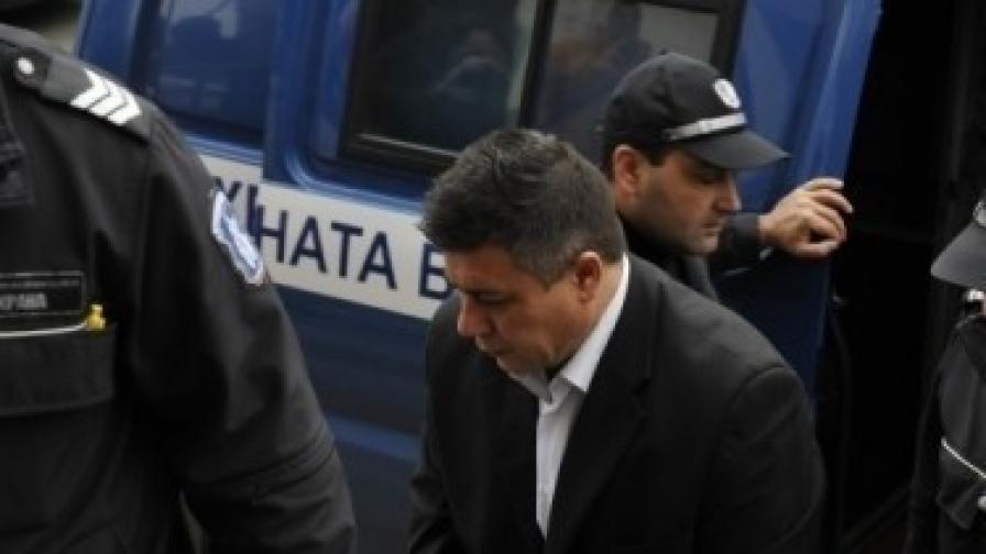 Осъденият убиец Евгени Ганев