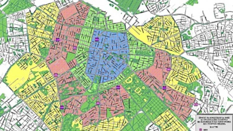 Предлагат нови зони за паркиране в София