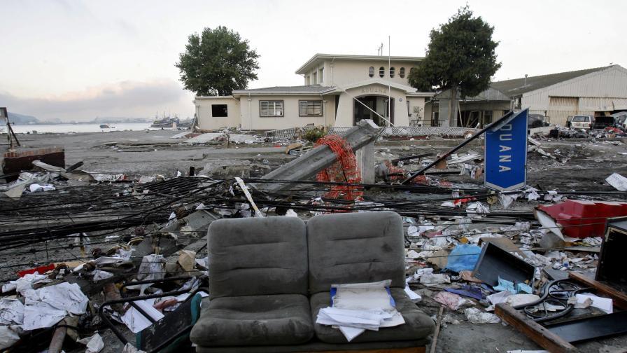 Трусът в Чили скъси деня