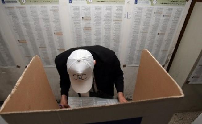 В Ирак гласуват под обстрел