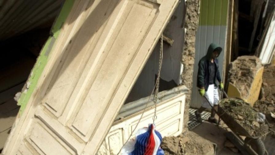Земетресението в Чили преместило градове