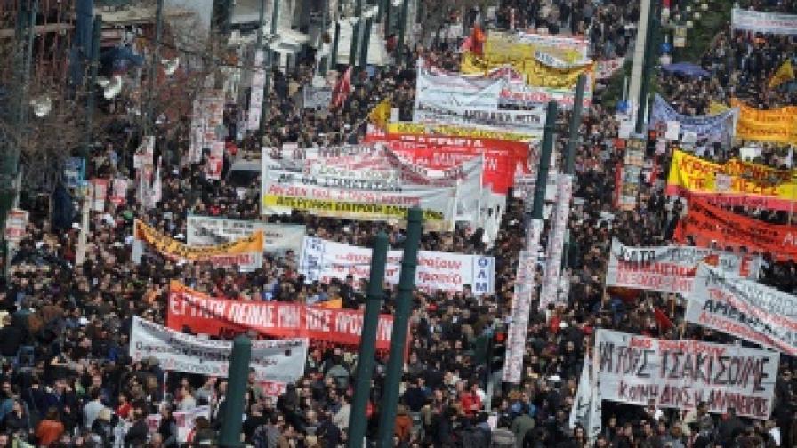 Април и май - критични за Гърция