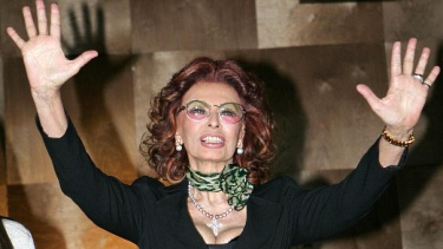 София Лорен играе майка си - за втори път