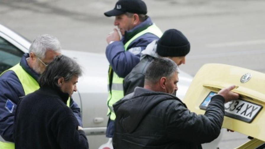 София: Затвориха стоянки за таксита, които пречат на движението