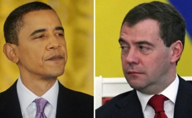 Обама и Медведев се разбраха за новия СТАРТ