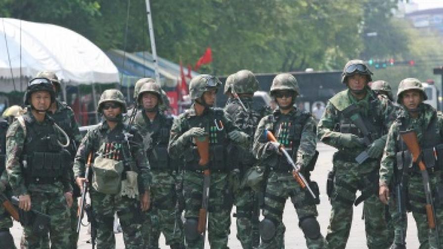 Отново сблъсъци в Тайланд