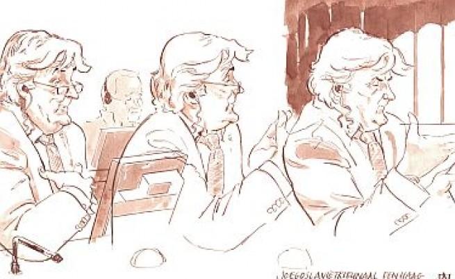 Свидетел говори през сълзи на процеса срещу Караджич